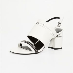 3.1 Philip Lim 70mm Drum Multi Strap Sandal Sz 40